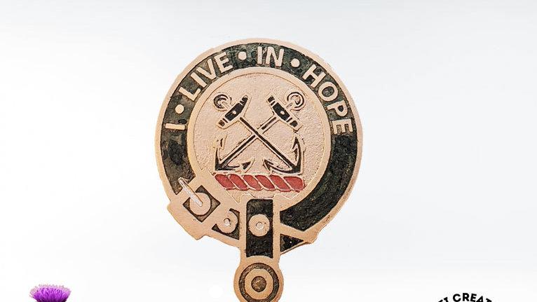 Clan Kinnear Badge, Scottish Clan