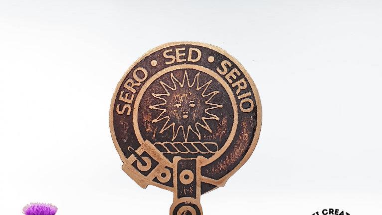 Clan Kerr Badge, Scottish Clan, Border Reiver Clan