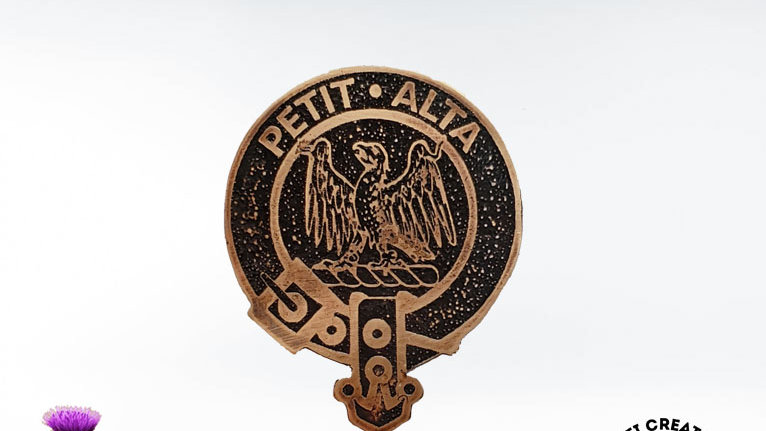 Clan Abercromby Badge, Scottish Clan Abercromby