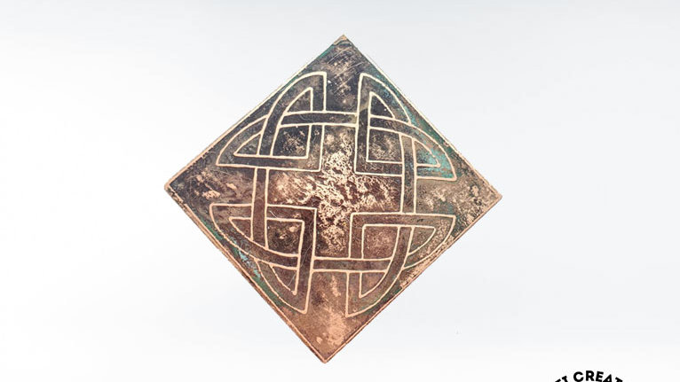Celtic Knot Brooch