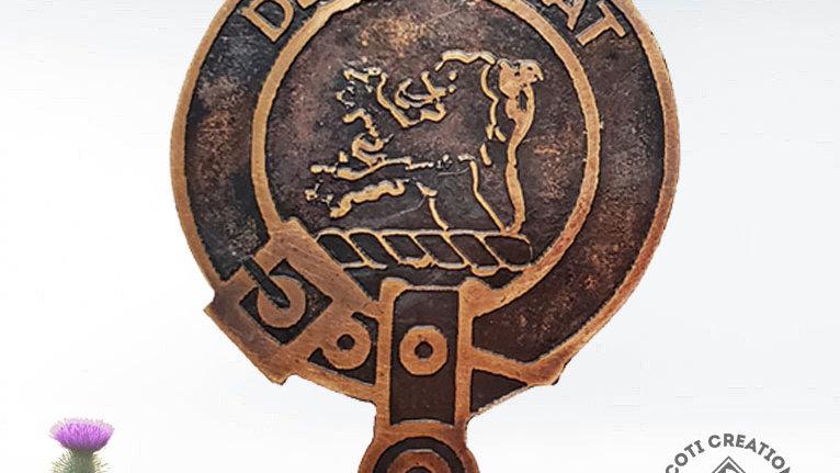 Clan MacDuff Badge, Scottish Clan, Lowland Clan Pin