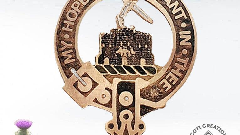 Clan MacDonald of Clanranald Badge, Scottish Clan, Highland Clan
