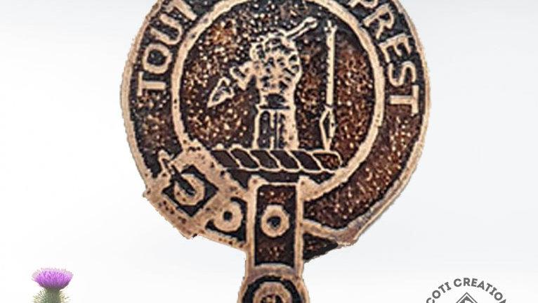 Clan Carmichael Badge, Scottish Clan