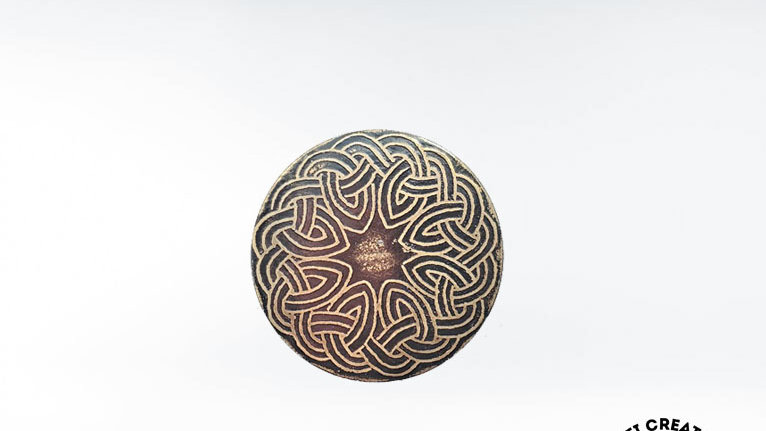 Celtic Circle Knot Brooch