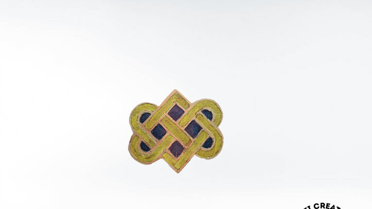 Celtic Eternity Knot Brooch