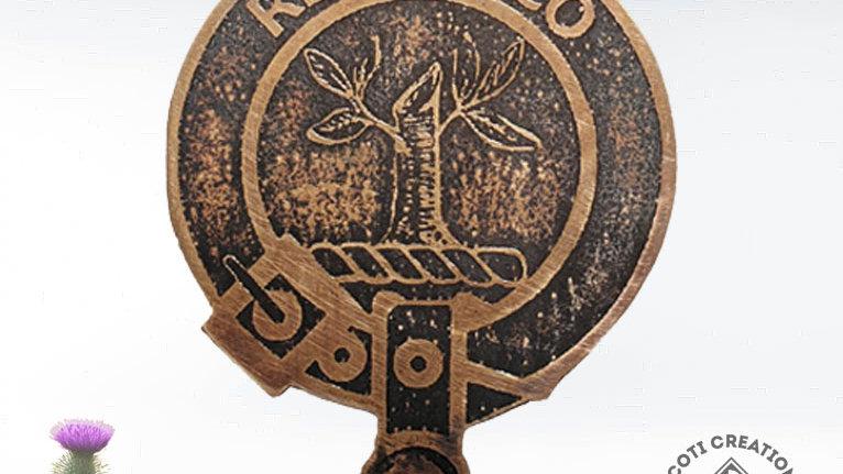 Clan MacEwen Badge, Scottish Clan MacEwan, Highland Clan