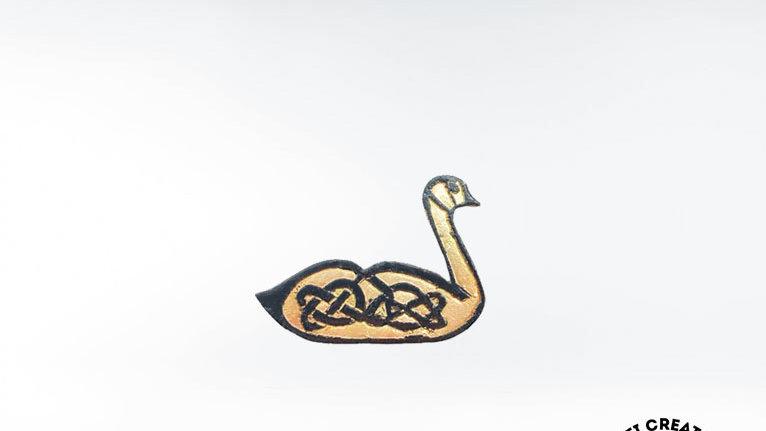 Celtic Goose Brooch