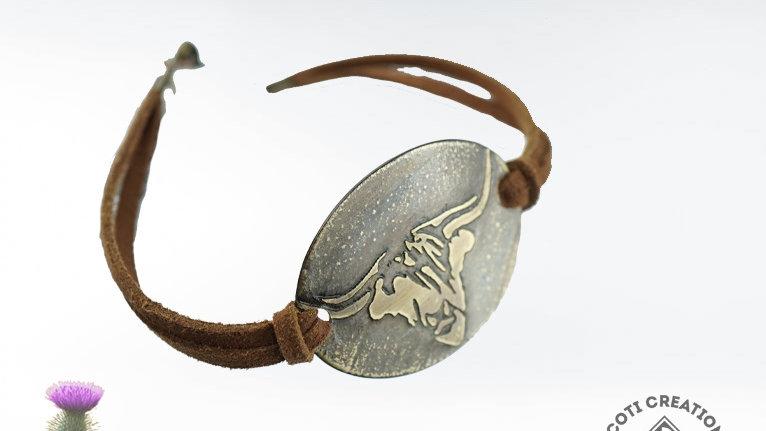 """Highland """"Coo"""" Bracelet"""