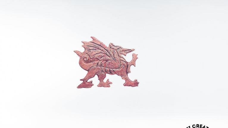 Celtic Brooch - Welsh Dragon