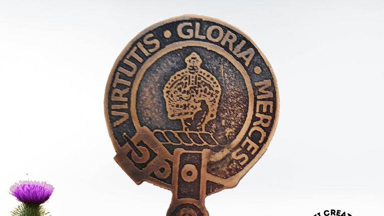 Clan Donnachaidh Badge, Clan Robertson, Scottish Clan Robertson