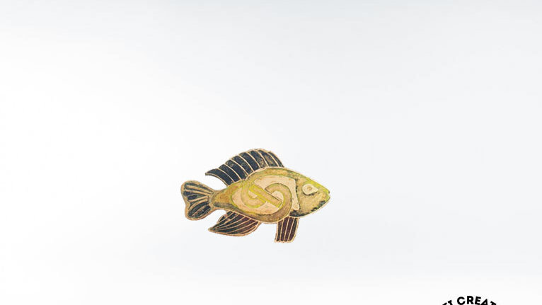 Celtic Fish Brooch, Salmon Brooch