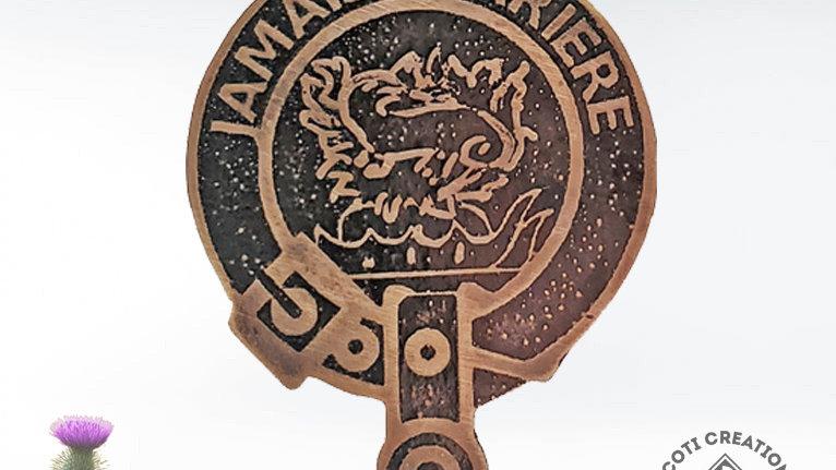 Clan Douglas Badge, Scottish Clan Douglas, Scottish Lowland Clan Pin