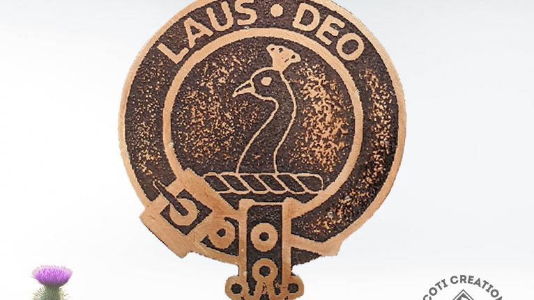 Clan Arbuthnott Badge, Scottish Clan, Lowland Clan