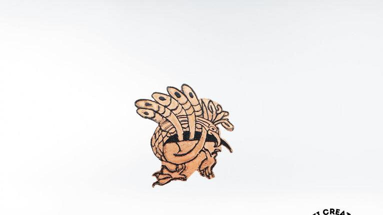 Celtic Peacock Brooch