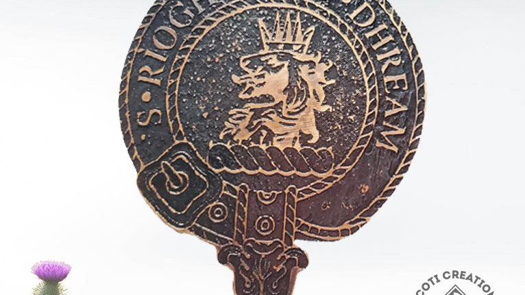 Clan Gregor Badge, Clan MacGregor, Scottish Clan Gregor, Scottish Highland Clan
