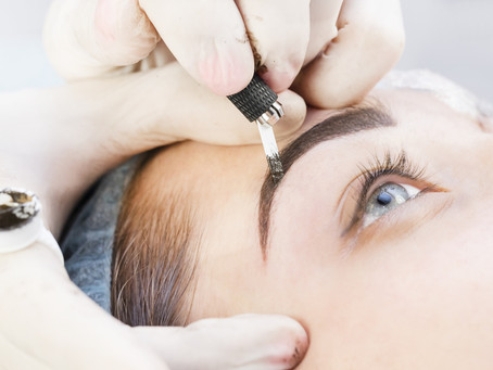 Microblading at FACE aesthetics & beauty