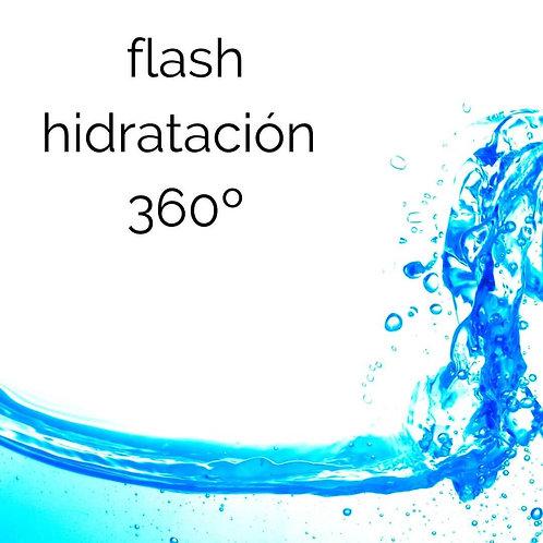 facial flash hidratación 360º