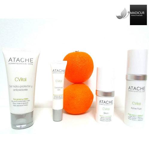 tratamiento C Vital pieles mixtas grasas