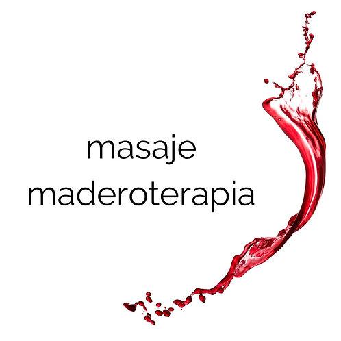 masaje con maderoterapia