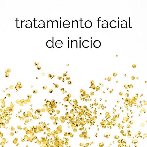 tratamiento facial de inicio