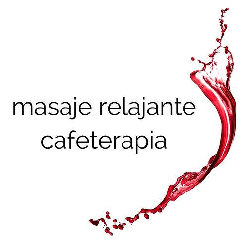 masaje relajante cafeterapia
