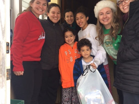 Bringing Holiday Cheer and Connecting Families