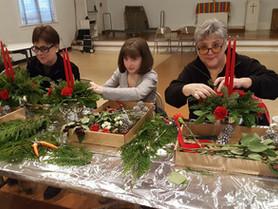 Make a Fresh Flower Arrangement December 3rd