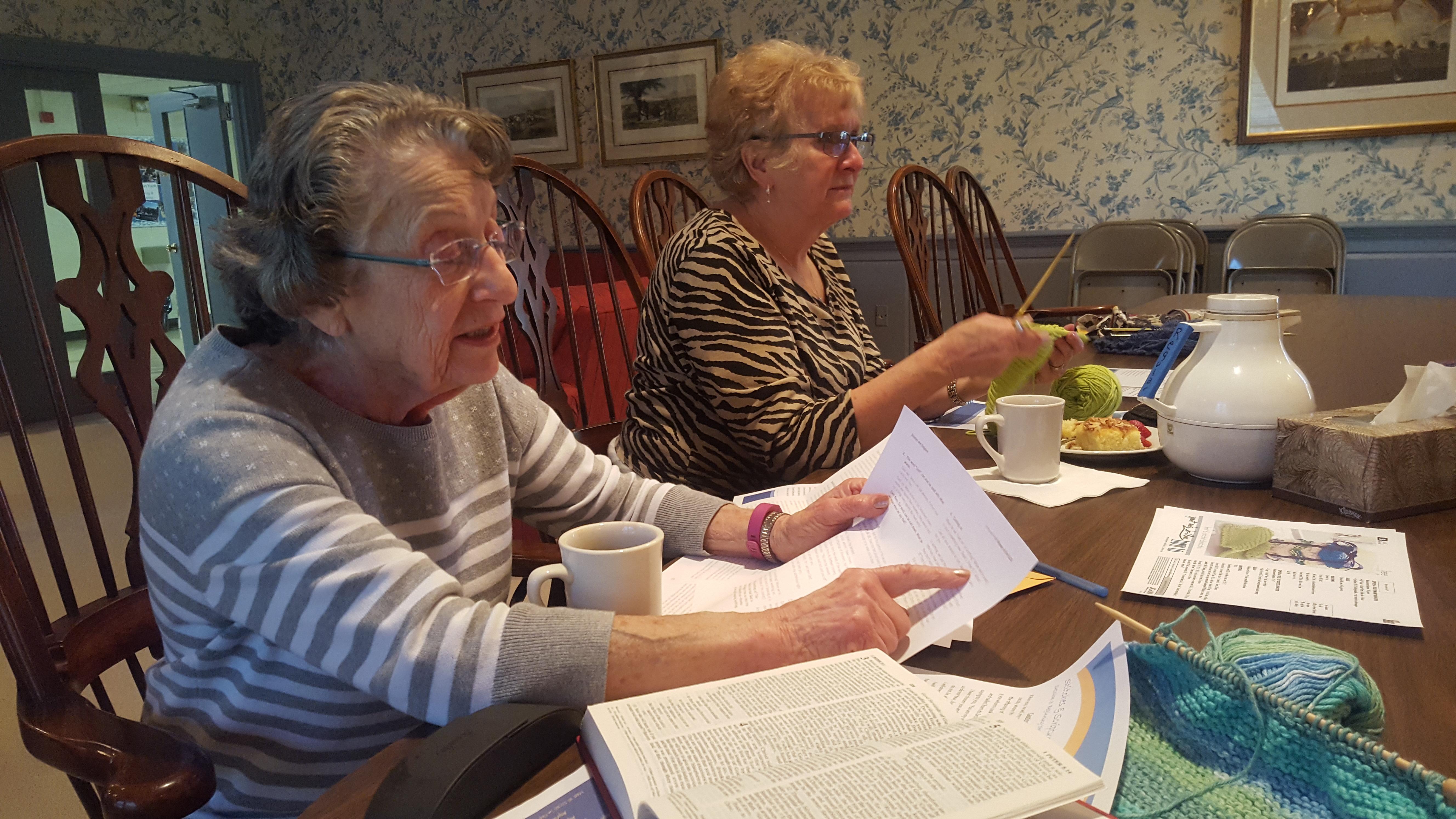 Knitting Bible Study