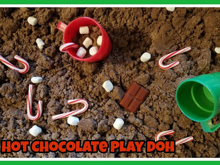 Hot Chocolate Play Doh