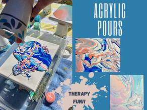 Acrylic Pours