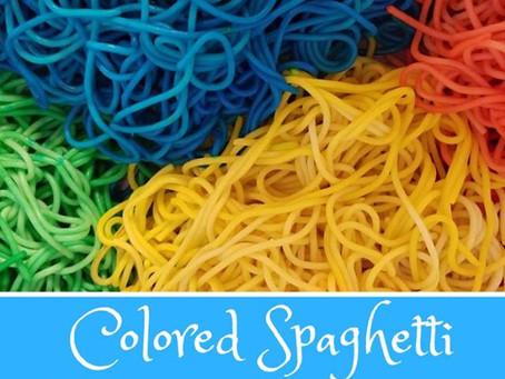 Colored Spaghetti