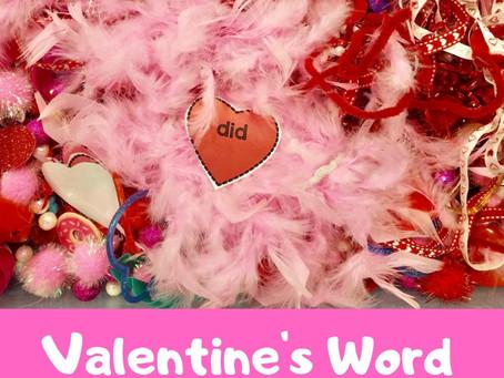 Valentine's Word Search