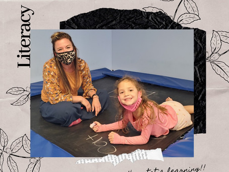 Speech Therapy Fun at Leaps & Bounds!