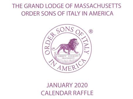 Calendar Raffle 2020