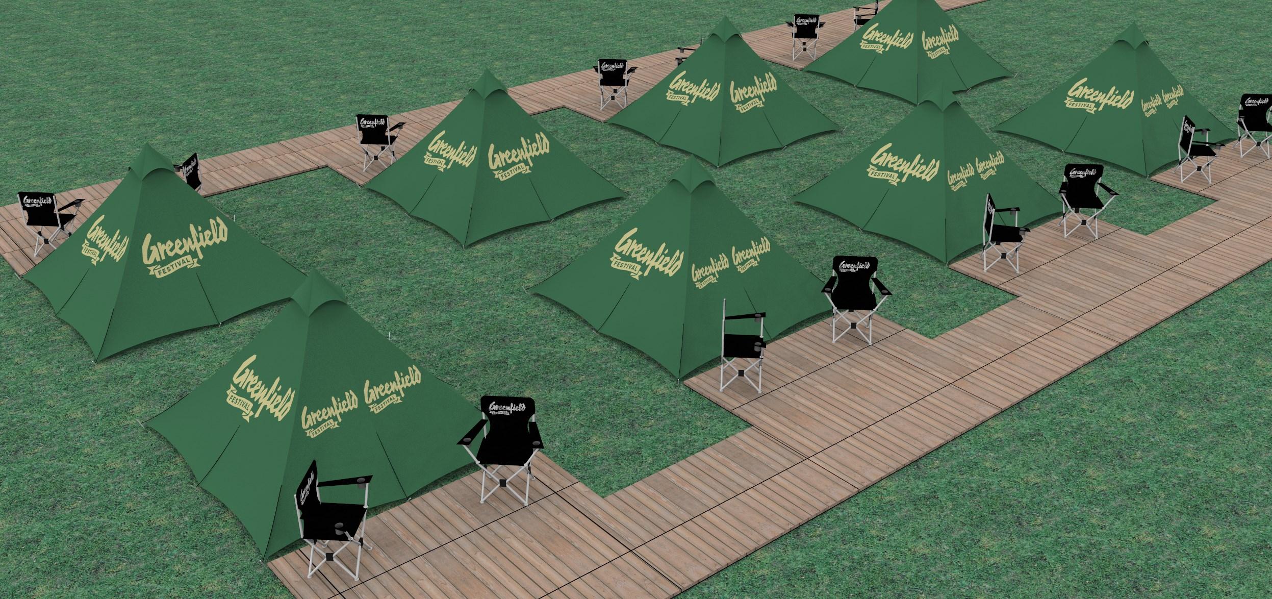 Greenfield VIP-Zelte V02 P01