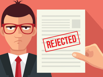 Rejection is part of the recruiting process?