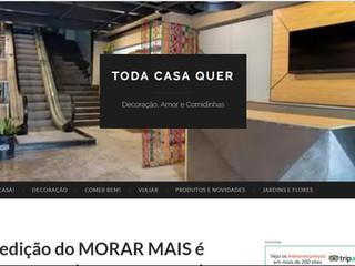 TC Arquitetura no TODA CASA QUER Decoração, Amor e Comidinhas