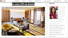 As salas VIP do Galeão são um sucesso!!!