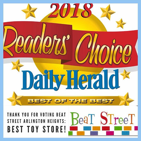 Best Toy Store, 2018 - Readers Choice Awards