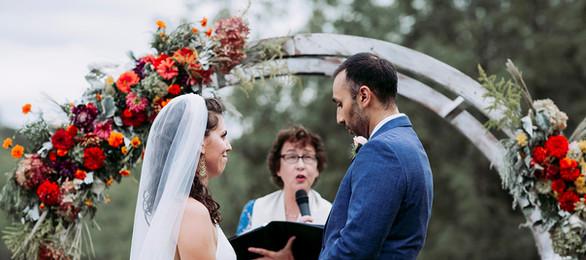 Ceremony close up