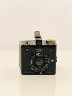 small box vintage camera