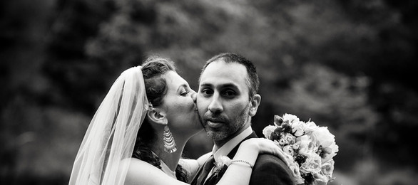 Portrait kiss