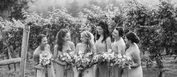 Olivia's Bridal Party