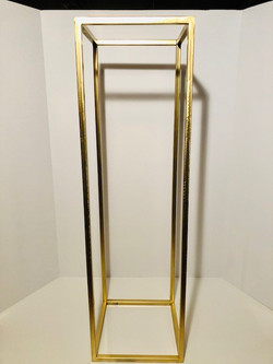 tall gold stands