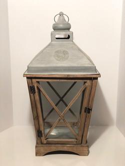 tin top lantern