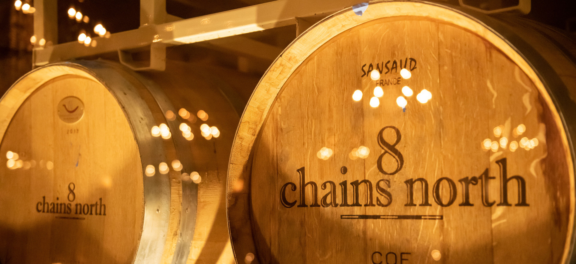 8 Chains barrels