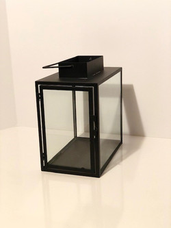black rectangle lantern side view
