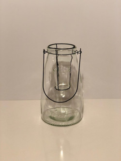 large glass jar lanterns