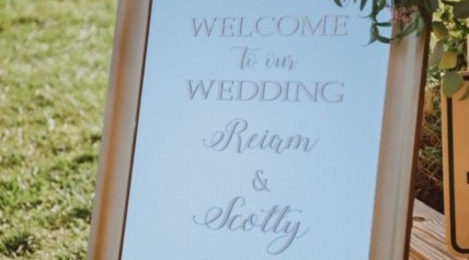 R & S- Welcome Sign