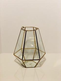 gold trimmed lantern